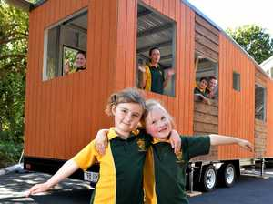Tiny Houses on show at Yandina State School.Prep