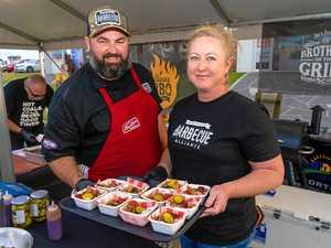 Smokin' hot challenge at BaconFest