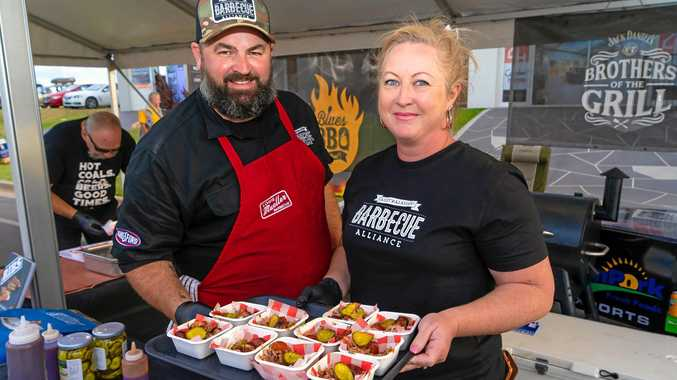 HOT OFF THE GRILL: Australasian Barbecue Alliance's Adam and Kristy Roberts.