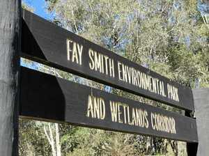 Work nearly finished on wetlands' new boardwalk