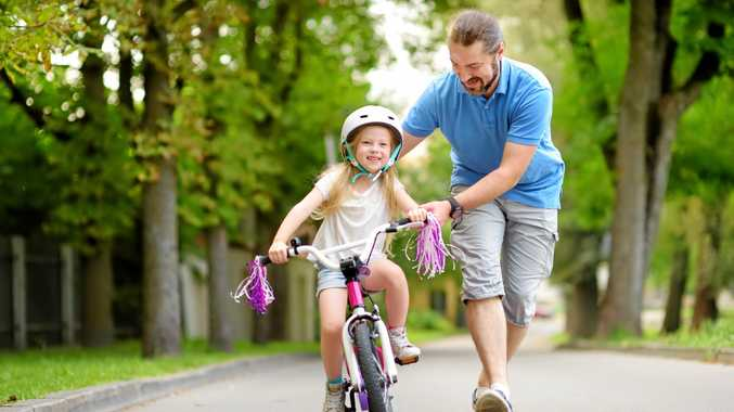 If you didn't learn as a kid, riding a bike can be a tough skill to master.