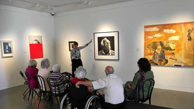 REAL LIFE ART: Lismore Regional Gallery implements its new Art & Dementia Program.