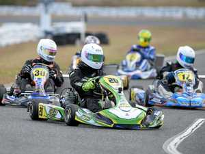 Locals in form in round 3 of CQ Karting Series