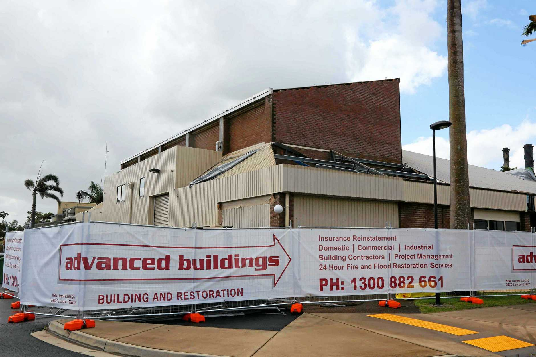 The Proserpine Entertainment Centre remains closed.