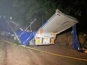 B-Double Truck Rollover north of Grafton