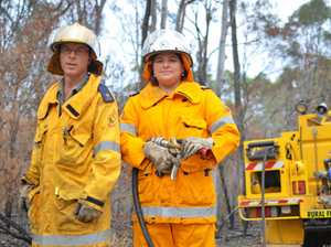 Volunteers jump into action to fight 'unexpected' fires