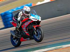 First podium is the aim for promising young rider