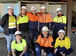 Construction Pathways students learn on the job skills