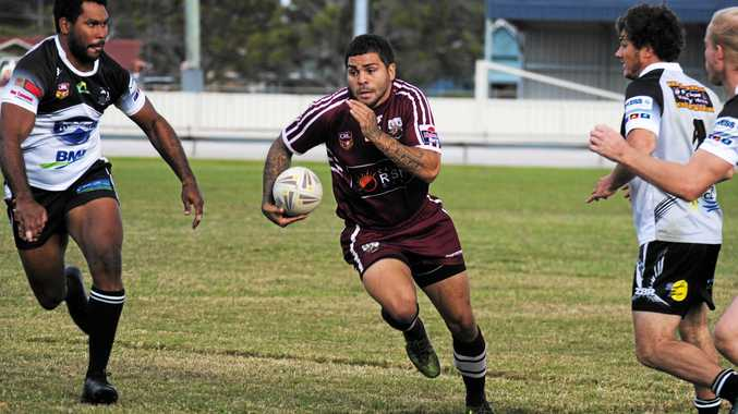 NUMBER ONE: Casino halfback Trevor Bolt is the top player from NRRRL clubs who missed the semi-finals.