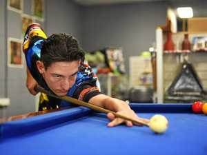 Meet the Gympie young gun cueing up for the open men's team