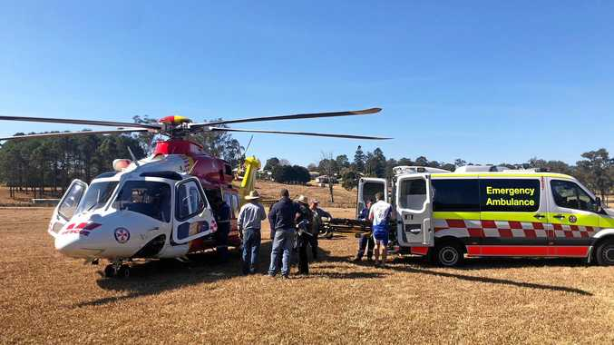 The Westpac Life Saver Rescue Helicopter has attended two incidents in Woodenbong.