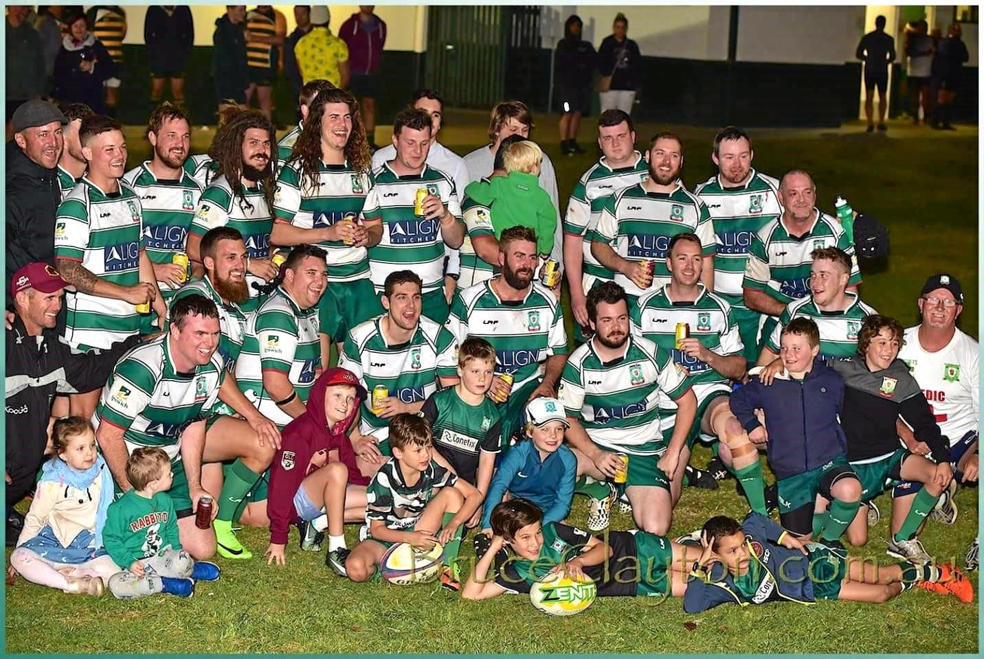 The Ipswich Rangers Wyatt Cup team that has made a late charge towards the grand final this season. Photo: Bruce Clayton