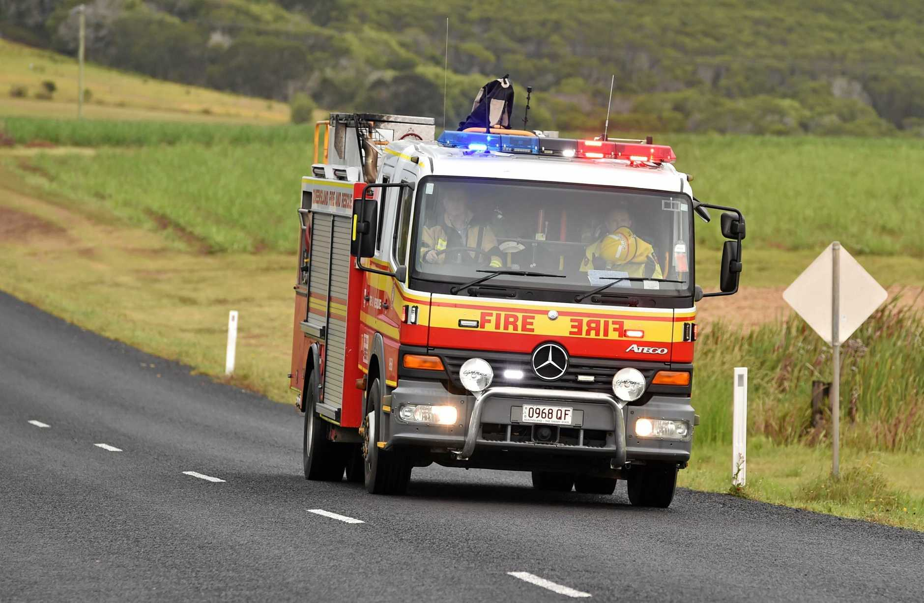 Queensland Ambulance Service Paramedics attended the scene of two crashes this morning.