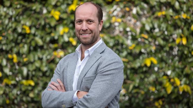 Energy Locals founder Adrian Merrick.