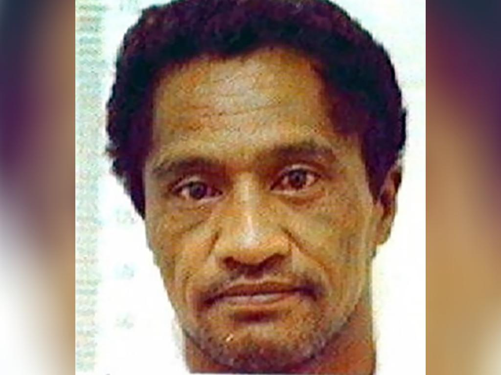 William Katipa, now 57, pictured in a mugshot released by police during a prison escape. Picture: NZPA/NZ Police