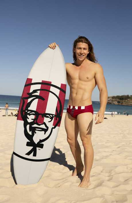 Who doesn't wanna rock KFC branded budgie smugglers.