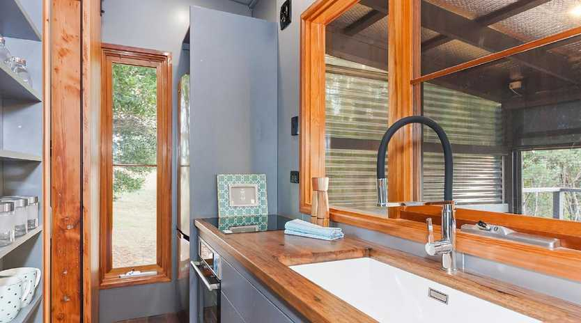 The Melbourne Home Show, held from August 16-19, will feature a 'street of Tiny Houses' this year, including this one from Tiny Footprint. Picture: The Melbourne Home Show