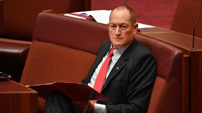 "Fraser Anning sparked an uproar after invoking the term ""Final Solution"" in his maiden speech to the Senate yesterday."