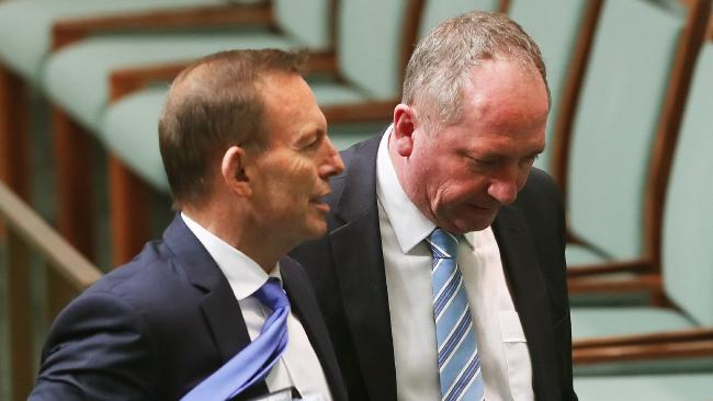 While Tony Abbott has extensive travel entitlements, Barnaby Joyce is much more restricted.