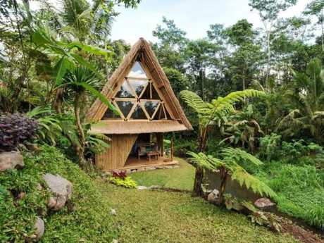 This is one of two Bali properties to make the list. Picture: Airbnb