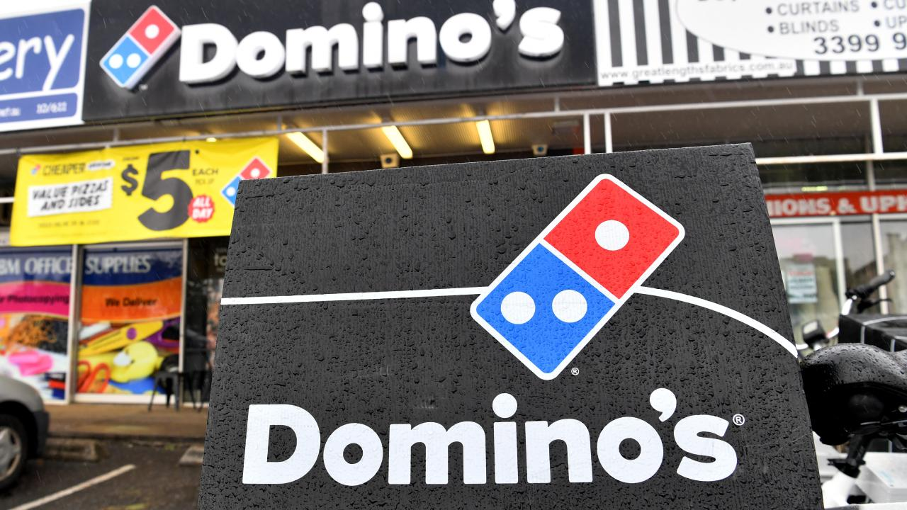 Domino's aims to get pizza delivered in 13 minutes or less. Picture: AAP Image/Darren England