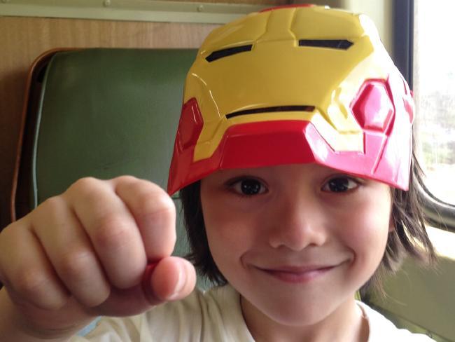 Julian's favourite superhero was Ironman.