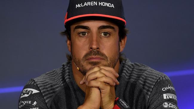 Not everyone was a huge fan of Fernando Alonso.