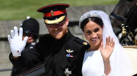 The royal romance has been marred by the ongoing Markle drama. Picture: Paul Ellis/WPA Pool/Getty Images