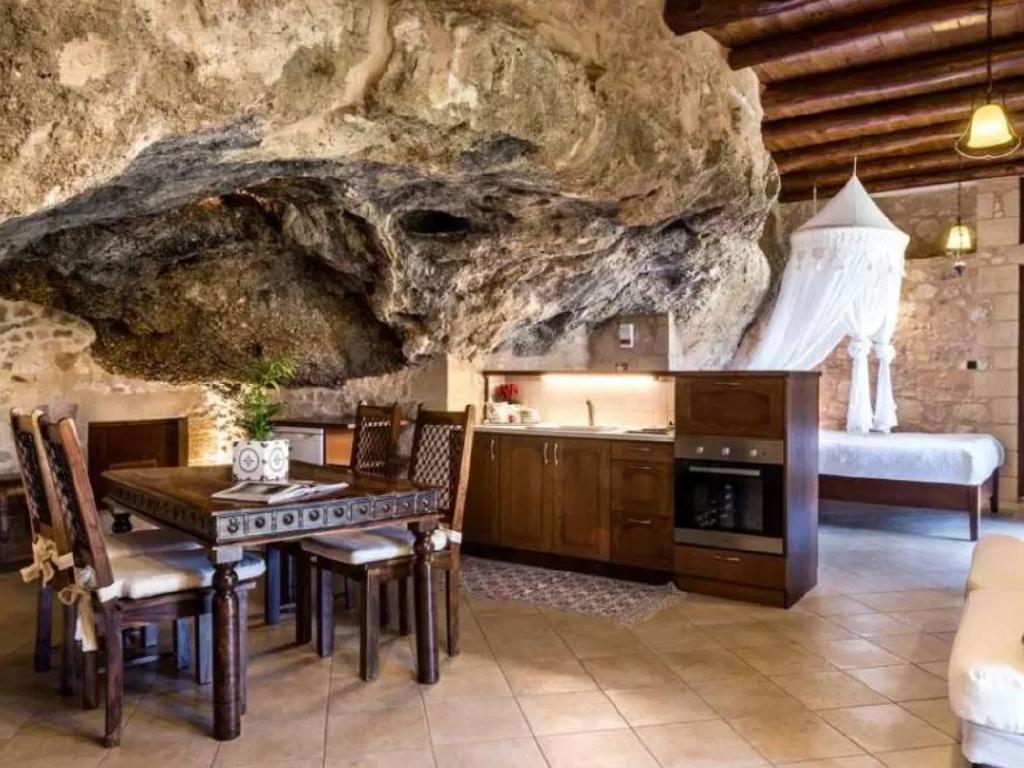 The unique interiors. Picture: Airbnb