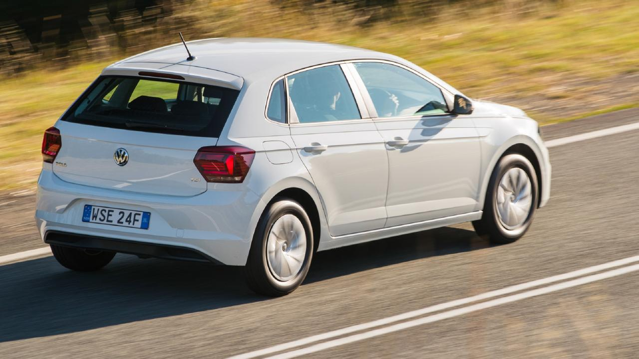 Fuel sipper: Small, efficient three-cylinder engines power the Polo Trendline.