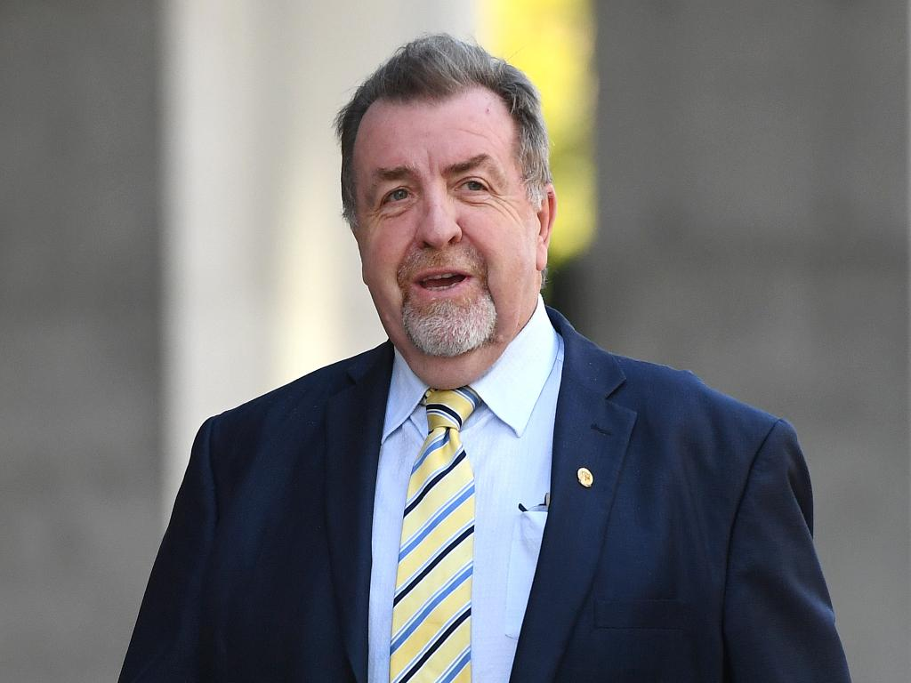 Ipswich City Councillor Paul Tully has defended having a council-owned company pay for memberships to the exclusive Brisbane Club. Picture: AAP Image/Dan Peled