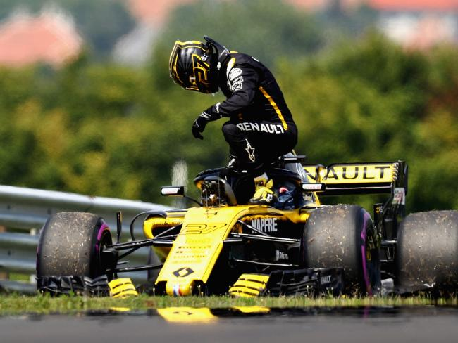 Renault has suffered plenty of technical issues of its own. Picture: Mark Thompson/Getty