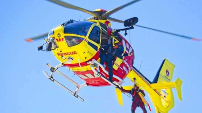 'Terrible situation': Man hospitalised after boat overturned