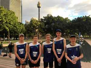 Coffs students part of largest school team in City 2 Surf
