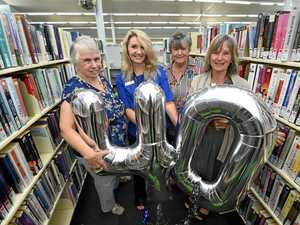 Librarians past and present join 40 year celebration