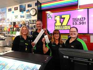 Lotto mania ramping up at Mackay news agents