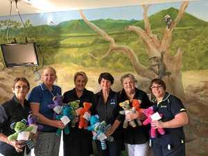 Trauma teddies are back at Proserpine Hospital