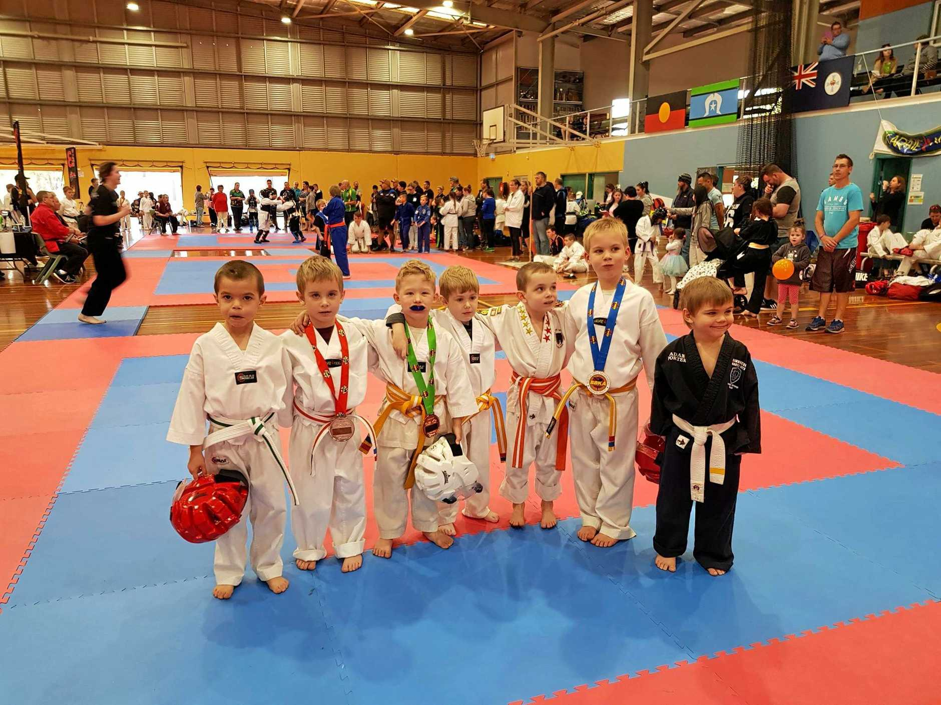 Participants as young as four-year-olds competed at the South Burnett Martial Arts Tournament in Kingaroy on Sunday August 12.