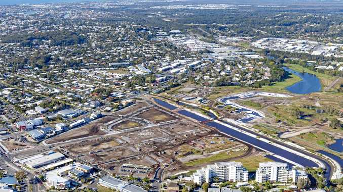 BIG PICTURE: Developer SunCentral is looking to achieve the next major milestones of the massive Maroochydore CBD as stage one of the development takes shape.