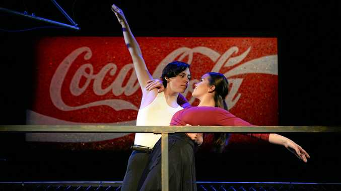 Strictly Ballroom's Ellie Belonogoff and Wesley Muir.