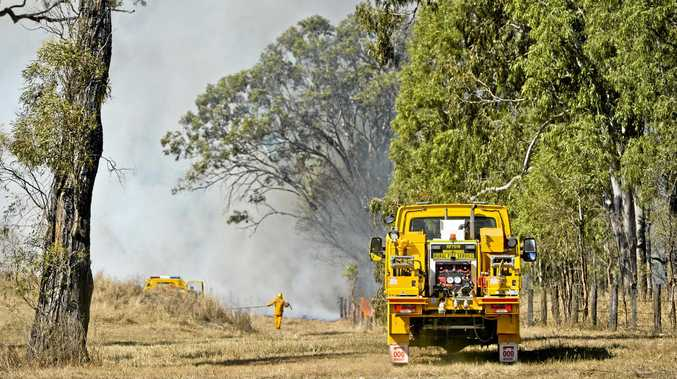 Emergency services on high alert as fire threat continues