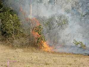Ramornie bush fire