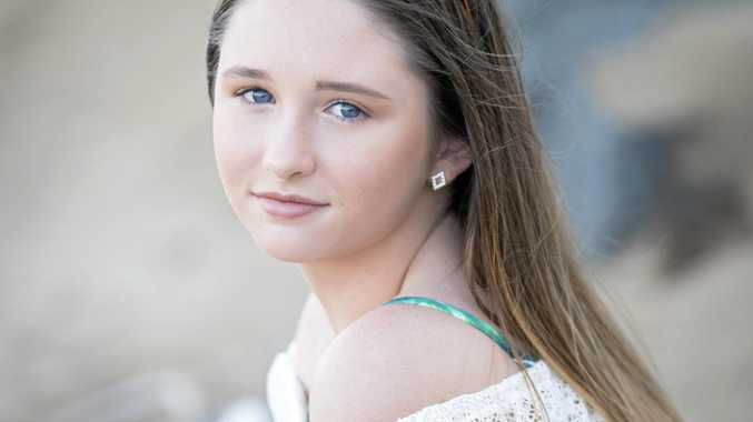 Aspiring Mackay model joins fundraiser