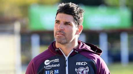 Trent Barrett has reportedly quit the club. (AAP Image/Dan Himbrechts)