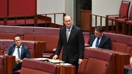 Katter's Australian Party Senator Fraser Anning. Picture: Mick Tsikas