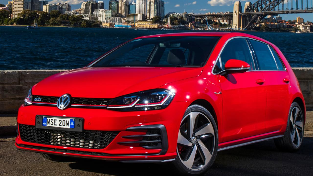 European favourite: The VW Golf has a far bigger following overseas.