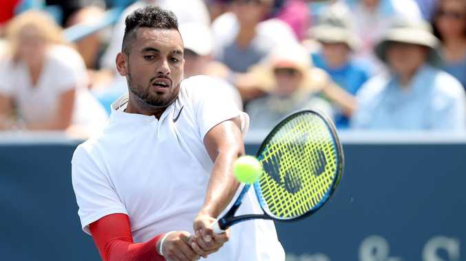 Nick Kyrgios is never far from the headlines. Picture: Matthew Stockman/Getty Images
