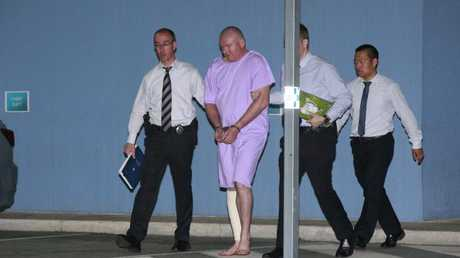 Anthony O'Donohue, pictured being arrested, has been deemed unfit for trial, but has been locked up for at least 10 years in a psychiatric facility.