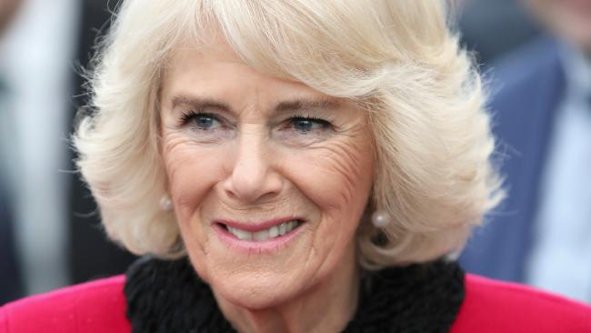 Camilla, Duchess of Cornwall smiles as she officially opens the London Power Tunnels Project in London. Picture: Chris Jackson — WPA Pool/Getty Images