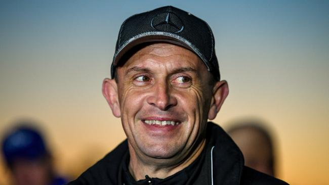Trainer Chris Waller coulnd't be happier with Winx heading into the spring. Picture: AAP